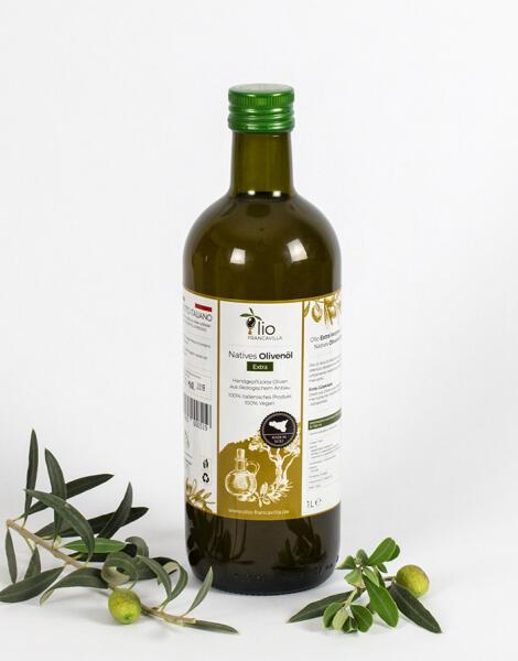 Francavillas Natives Olivenöl Extra   1000 ml