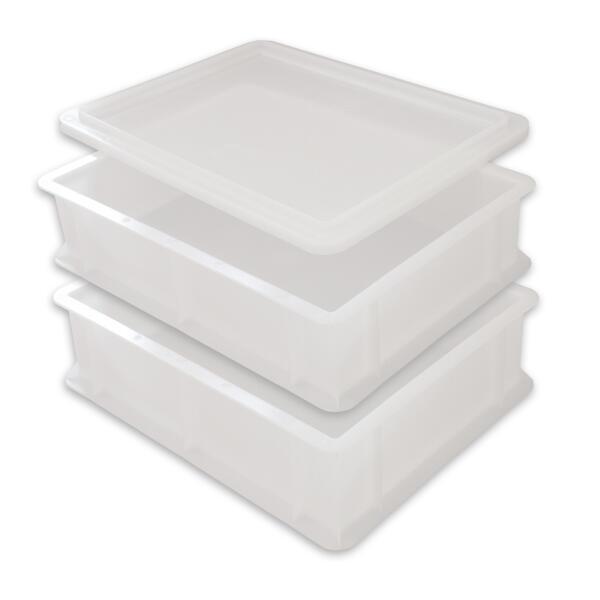2 Pizzaballenbox, 1 Deckel
